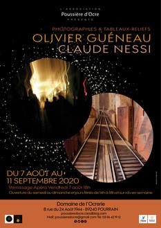 Vernissage Photographies & Tableaux-reliefs jusqu'au 11/9/20