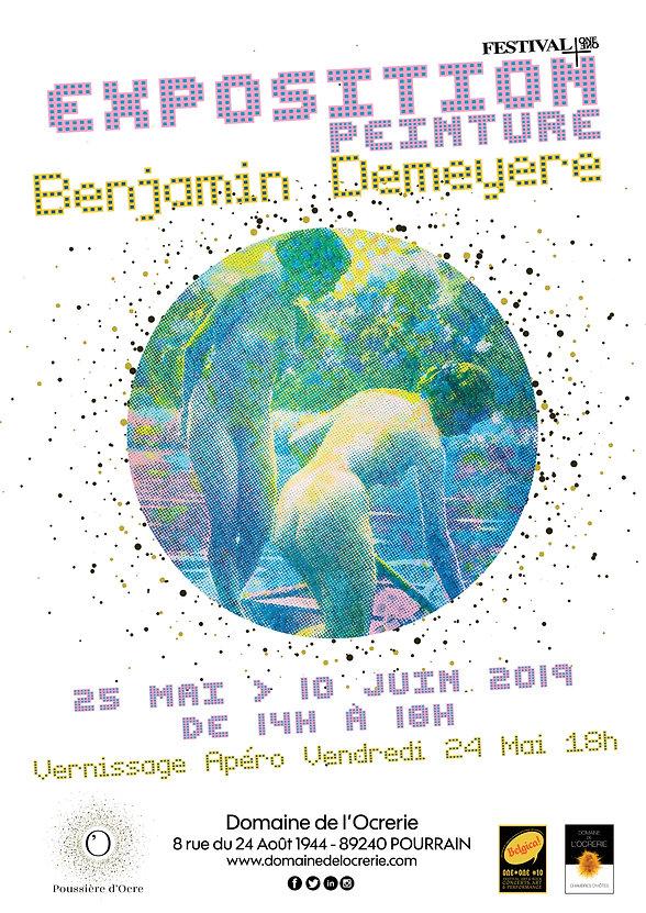AFFICHE Expo BENJAMIN DEMEYERE 240519.jp
