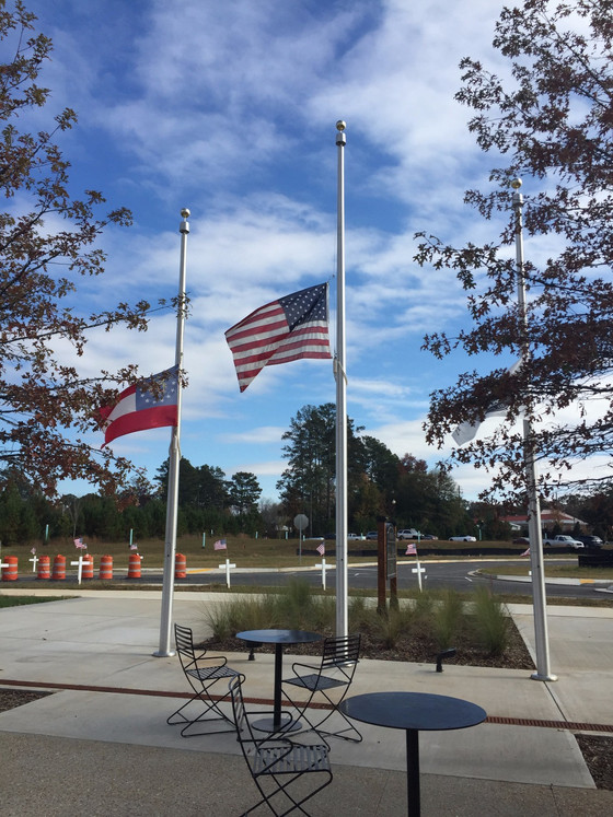 Thoughts on the Half-Mast Flag