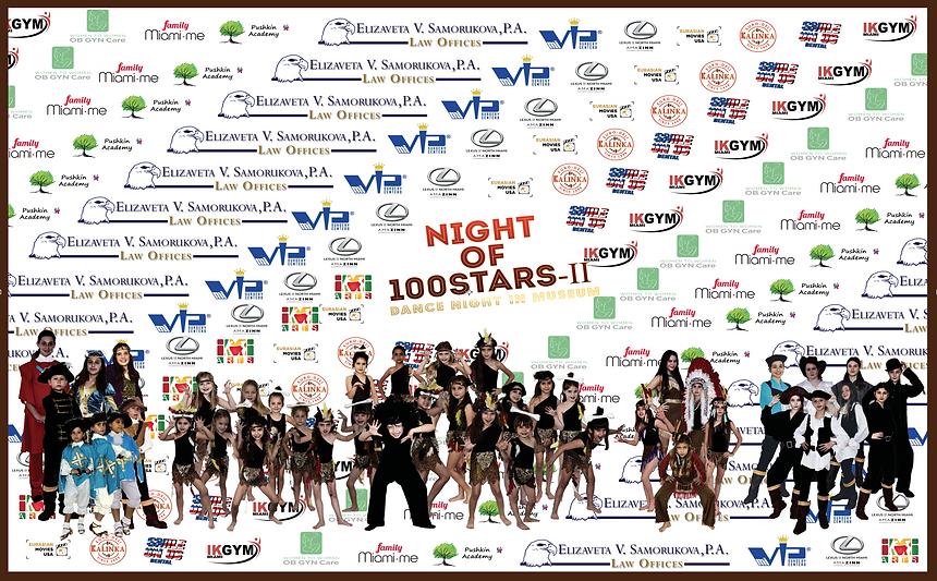 MAY 3rd 2020 Night of 100 Stars-II