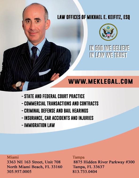 LAW OFFICES OF MIKHAEL E. KEIFITZ, ESQ