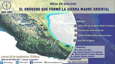 Mesa de diálogo: El orógeno que formó la Sierra Madre Oriental