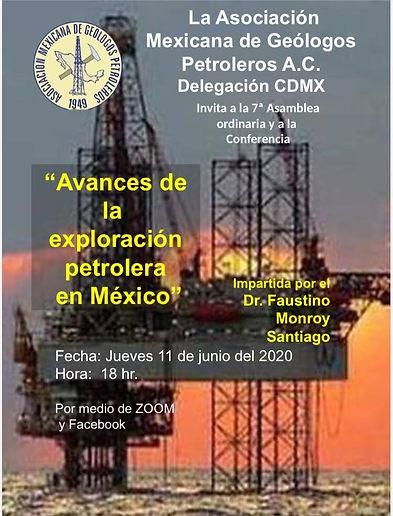 Avances de la exploración petrolera en México