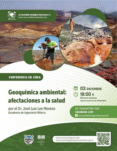 Geoquímica ambiental: afectaciones a la salud