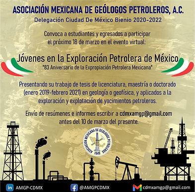 Jóvenes en la exploración petrolera de México