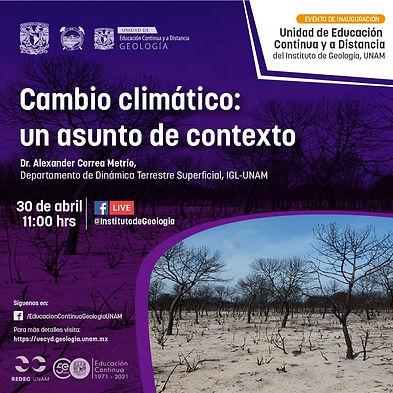 Cambio climático: un asunto de contexto