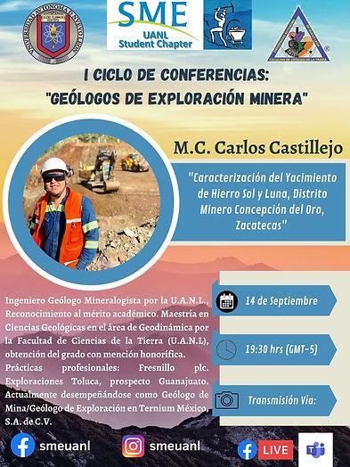 Caracterización del Yacimiento de Hierro Sol y Luna, Distrito Minero Concepción del Oro, Zacatecas