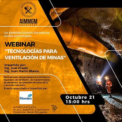 Tecnologías para ventilación de minas