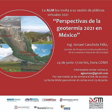 Perspectivas de la geotermia 2021 en México