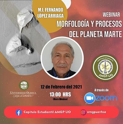 Morfología y procesos del planeta marte