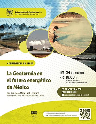 La Geotermia en el futuro energético de México