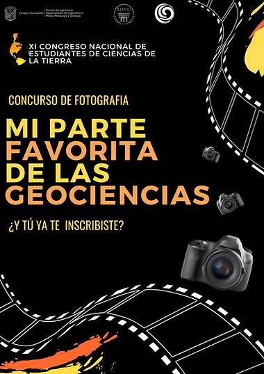 """Concurso de fotografía """"Mi parte favorita de las geociencias"""""""