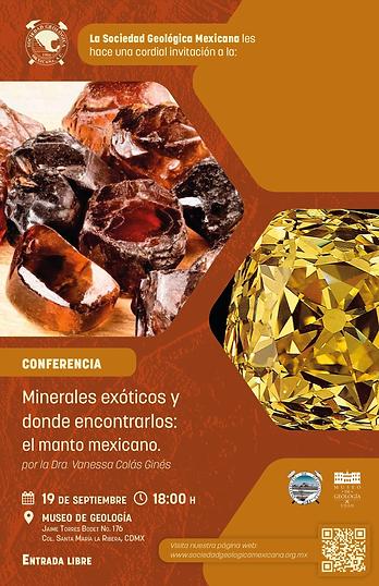 Minerales exóticos y donde encontrarlos: el manto mexicano