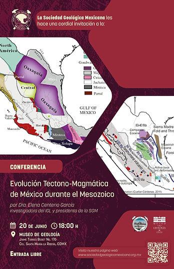 Evolución Tectono-Magmática de México durante  el Mesozoico