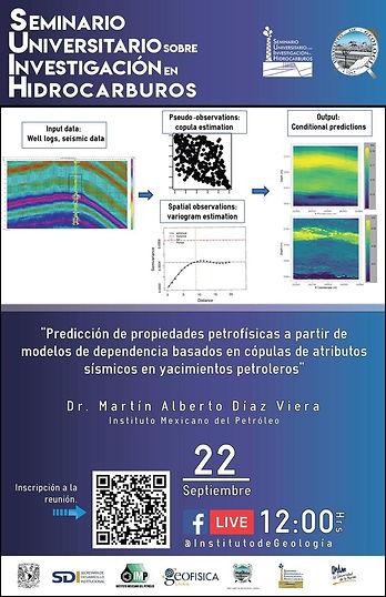Predicción de propiedades petrofísicas a partir de modelos de dependencia basados en cópulas de atributos sísmicos en yacimientos petroleros