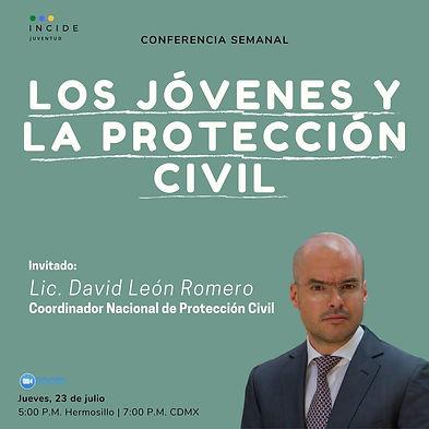 Los jóvenes y la Protección Civil