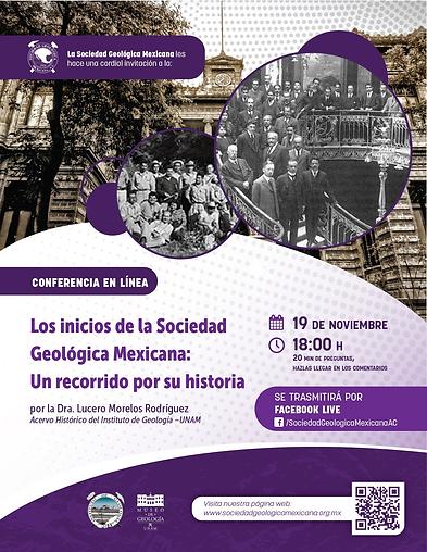 Los inicios de la Sociedad Geológica Mexicana: Un recorrido por su historia