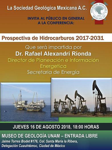 Prospectiva de Hidrocarburos 2017-2031