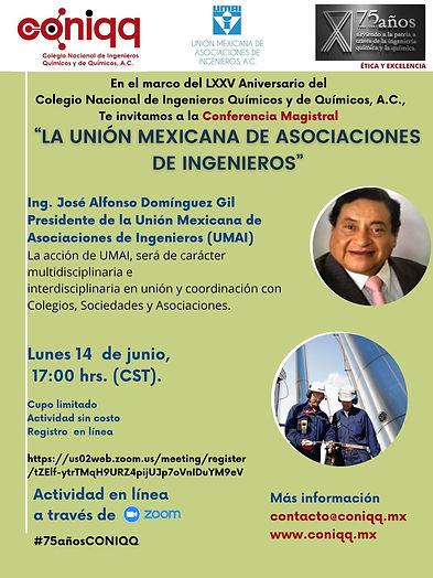 La Unión Mexicana de Asociaciones de Ingenieros