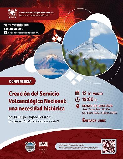 Creación del Servicio Volcanológico Nacional: una necesidad histórica