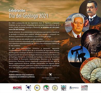Celebración Día del Geólogo 2021