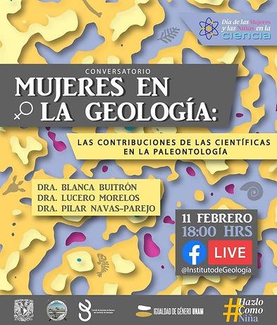 Mujeres en la Geología. Contribuciones de las científicas en la paleontología