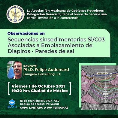Observaciones en: Secuencias sinsedimentarias Si/C03 Asociadas a Emplazamiento de Diapiros - Paredes de sal