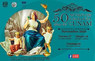 50 Aniversario del Museo de Geología