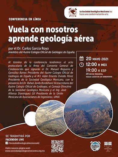 Vuela con nosotros, aprende geología aérea