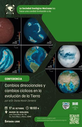 Cambios direccionales y cambios cíclicos en la evolución de la Tierra