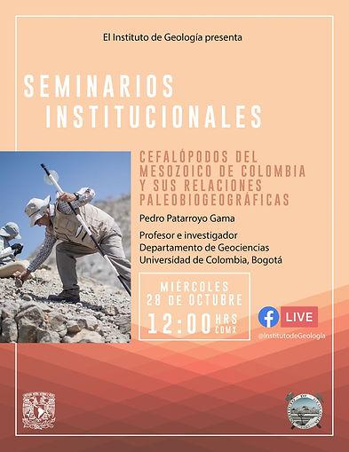 Cefalópodos del Mesozoico de Colombia y sus relaciones Paleobiogeográficas