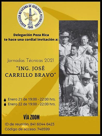 Jornadas Técnicas 2021 | Ing. José Carrillo Bravo