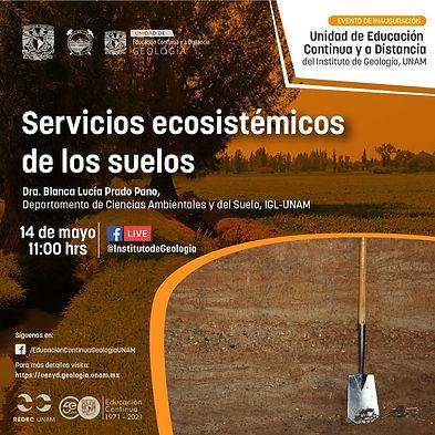 Servicios ecosistémicos de los suelos