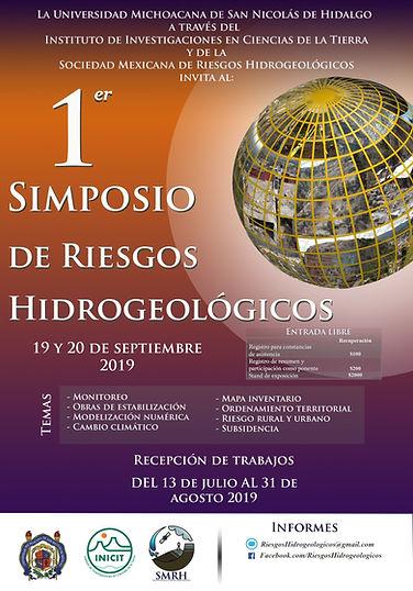 1er Simposio de Riesgos Hidrogeológicos