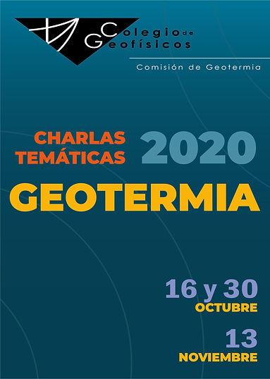 Geotermia. Charlas Temáticas 2020