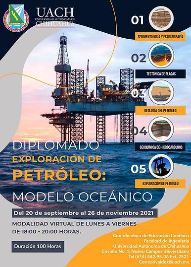 Diplomado en Exploración del Petróleo: Modelo Oceánico
