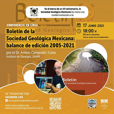 Boletín de la Sociedad Geológica Mexicana: balance de edición 2005-2021
