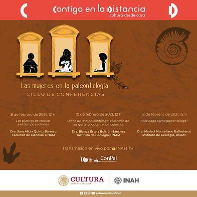 """Ciclo de conferencias """"Las mujeres en la paleontología"""""""