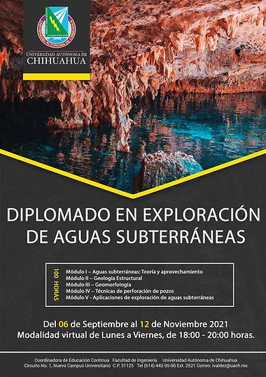 Diplomado en Exploración de Aguas Subterráneas