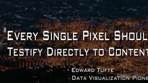 The Art of Data Visualization: Edward Tufte