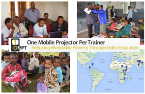 Reducing worldwide poverty through video education