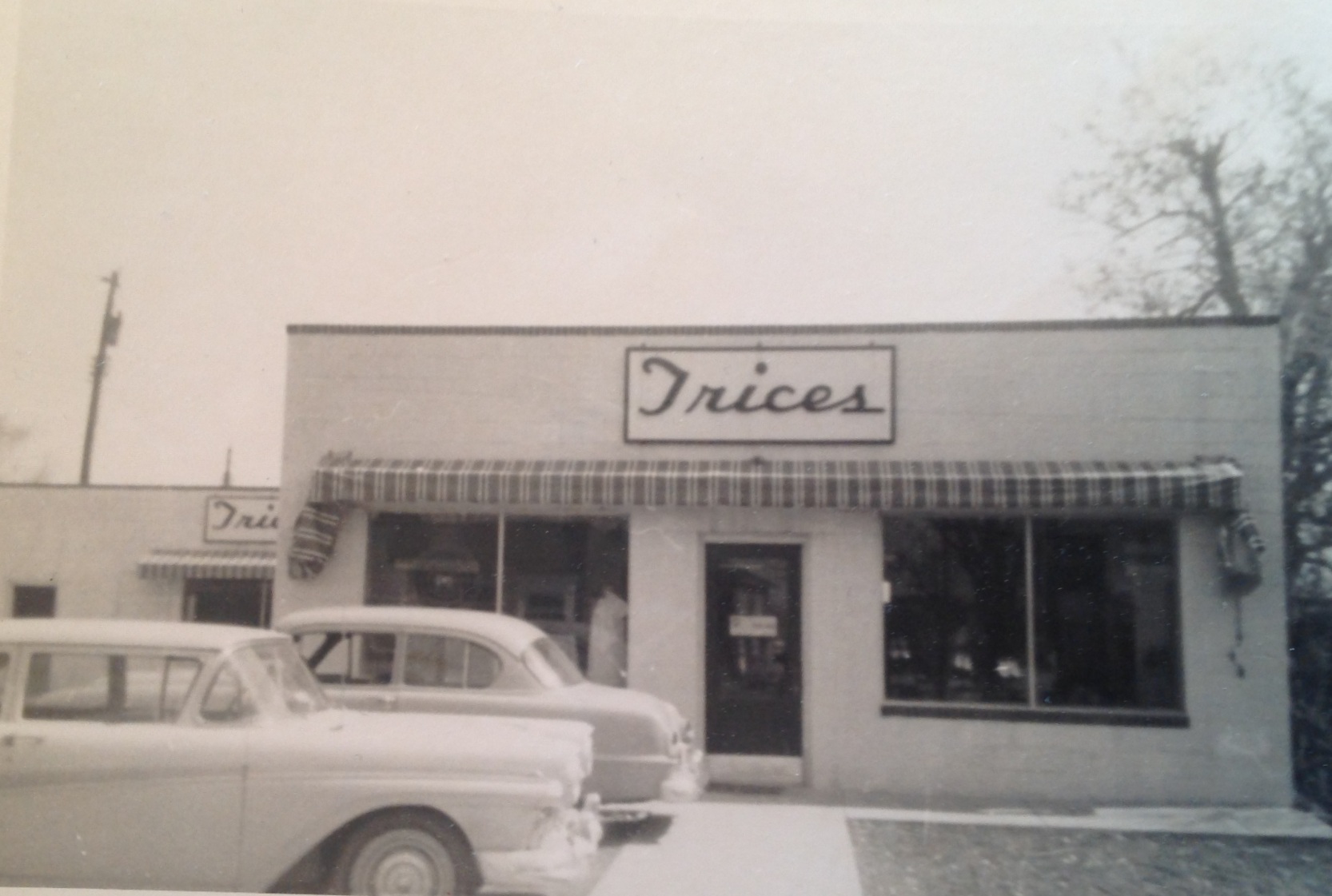 Trices Grocery Store 1958