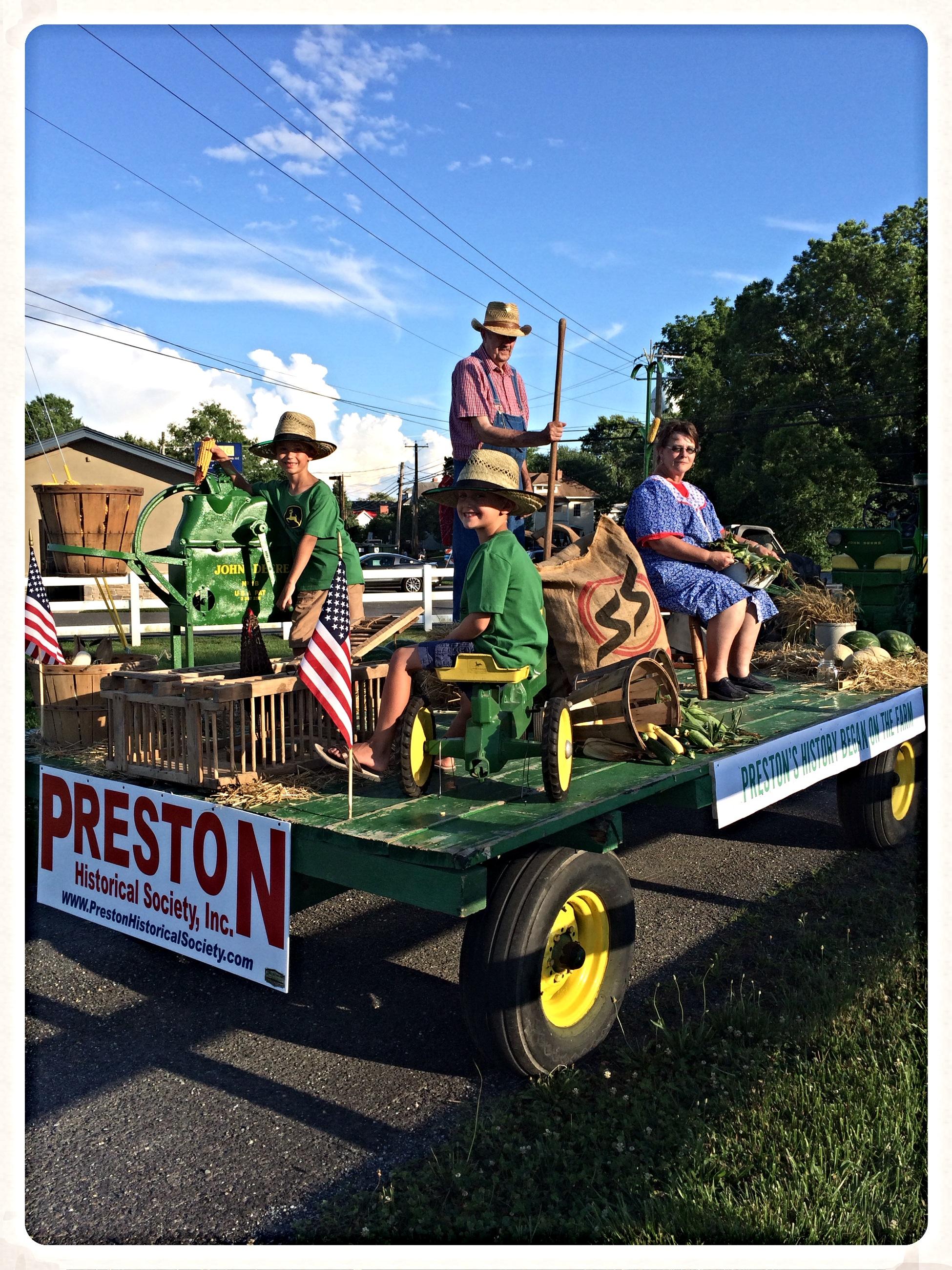 Preston's Past Began on the Farm