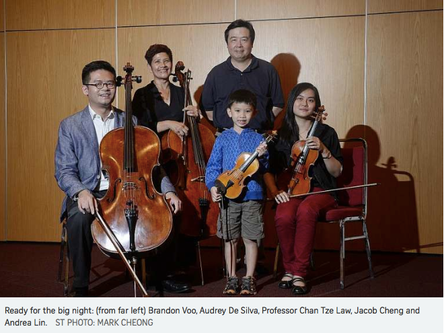 A 55-year-old piano teacher and a six-year-old boy will play with the Metropolitan Festival Orchestr