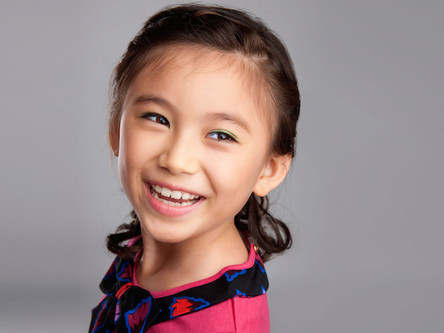 Singaporean Sasha Suhandinata, 9, scores part as Frozen's Princess Anna