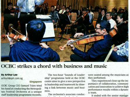 OCBC strikes a chord with business and music