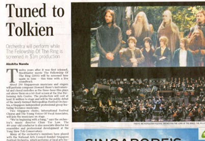 Tuned to Tolkien