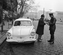 Retro trabant photography
