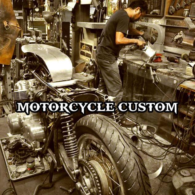 """Độ chế động cơ xe gắn máy """"Motorcycles Custom"""" chuyên biệt về thử sức mình với việc độ chế các loại động cơ để thách thức giới hạn bản thân về tay nghề và đam mê sáng tạo"""