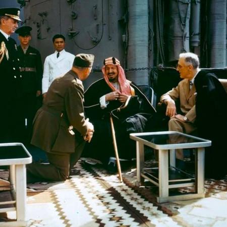 Ibn Saud and Roosevelt